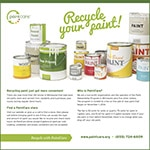 We'll recycle your paint (general) advertisement